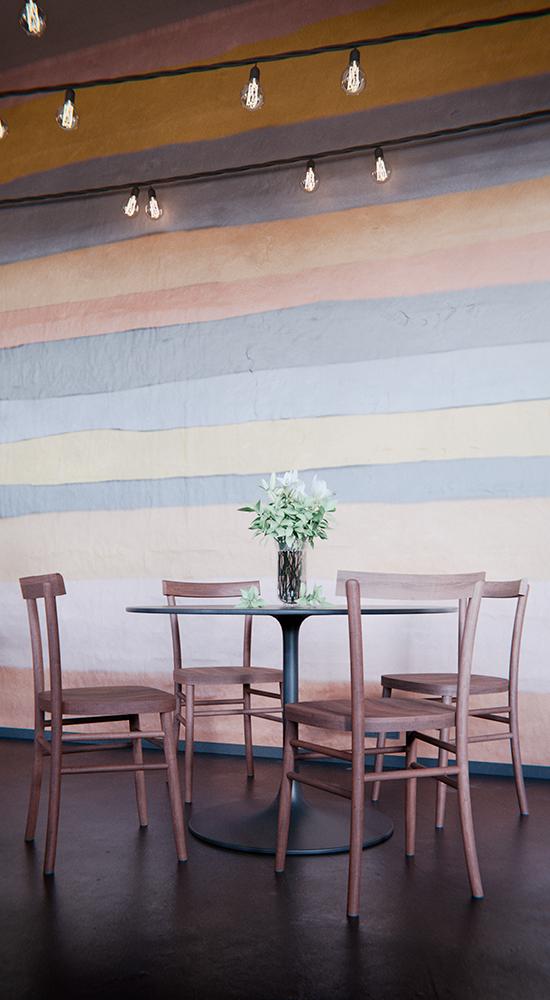 Ekologinen ravintolan sisustus/ekologisk cafe inredning
